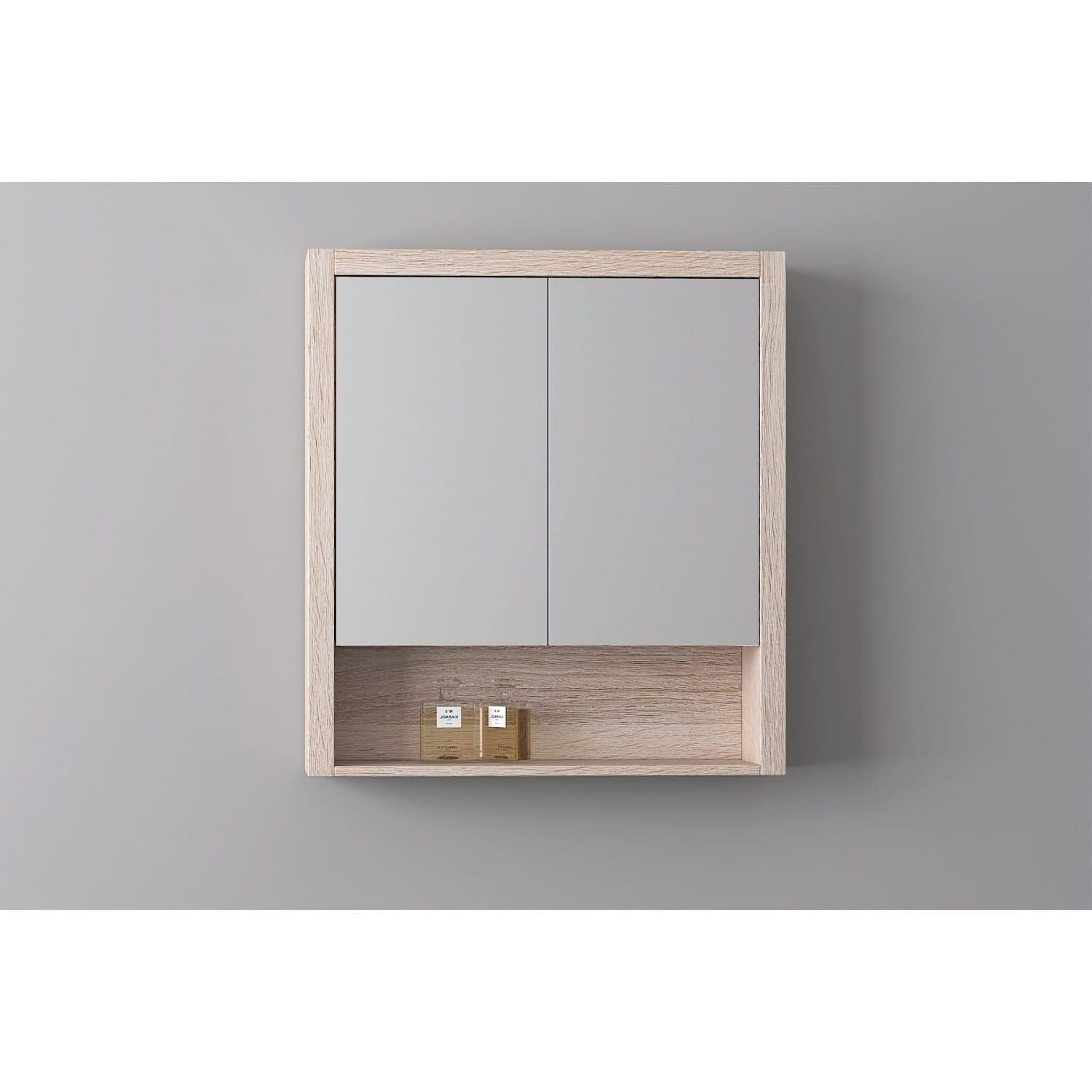 Britney 900 Mirror Cabinet in Oak