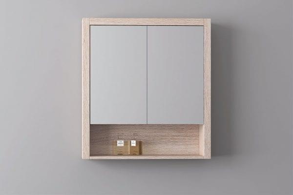 Britney 900 Mirror Cabinet in Oak