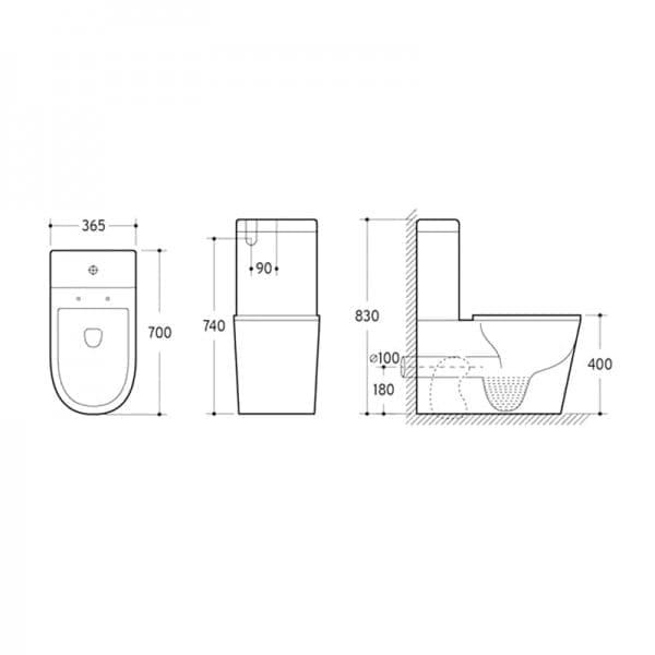KDK 002 Toilet 2