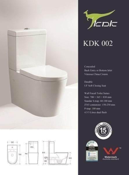 KDK 002 Toilet 1