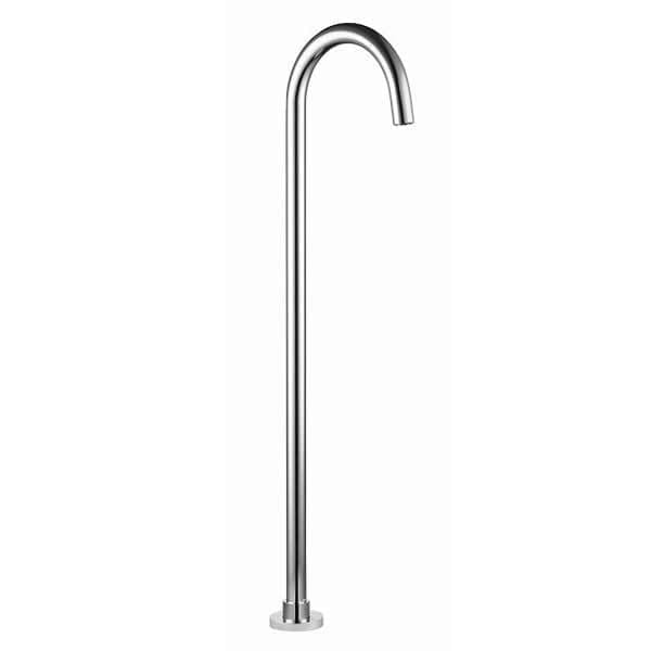 Round Freestanding Bath Spout 1