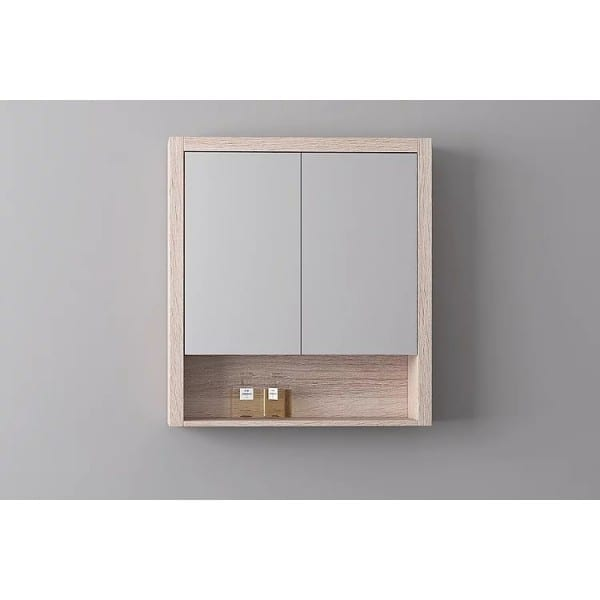 Britney 750 Mirror Cabinet in Oak