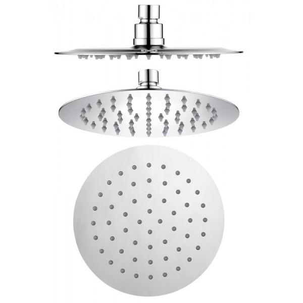 Stainless Shower Head Round 1