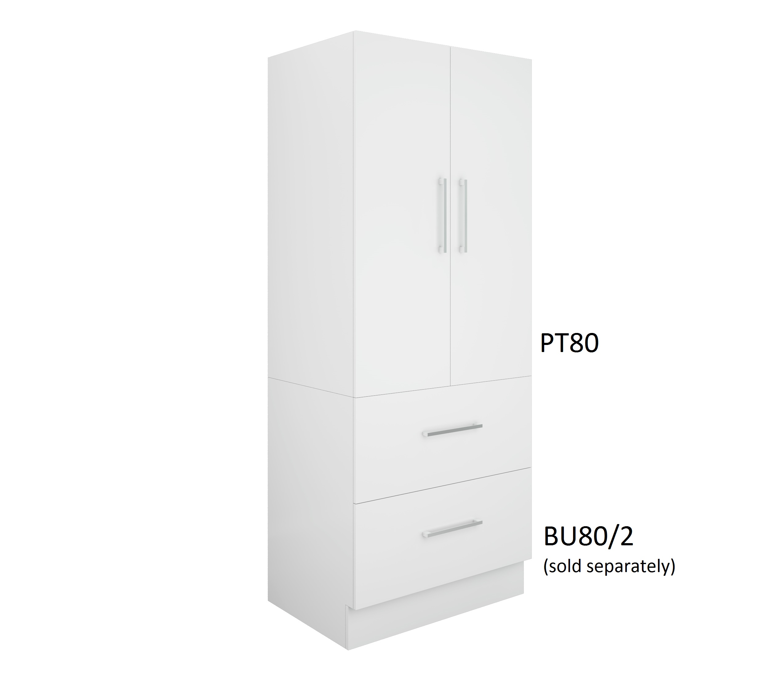 800mm Pantry Topper Vbathroom
