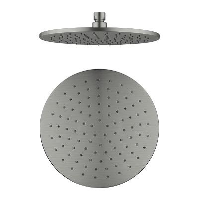NERO Round Shower Head Brass 250mm 4
