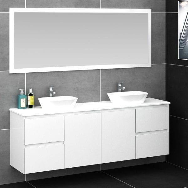Shirly 1800 Vanity in White 1