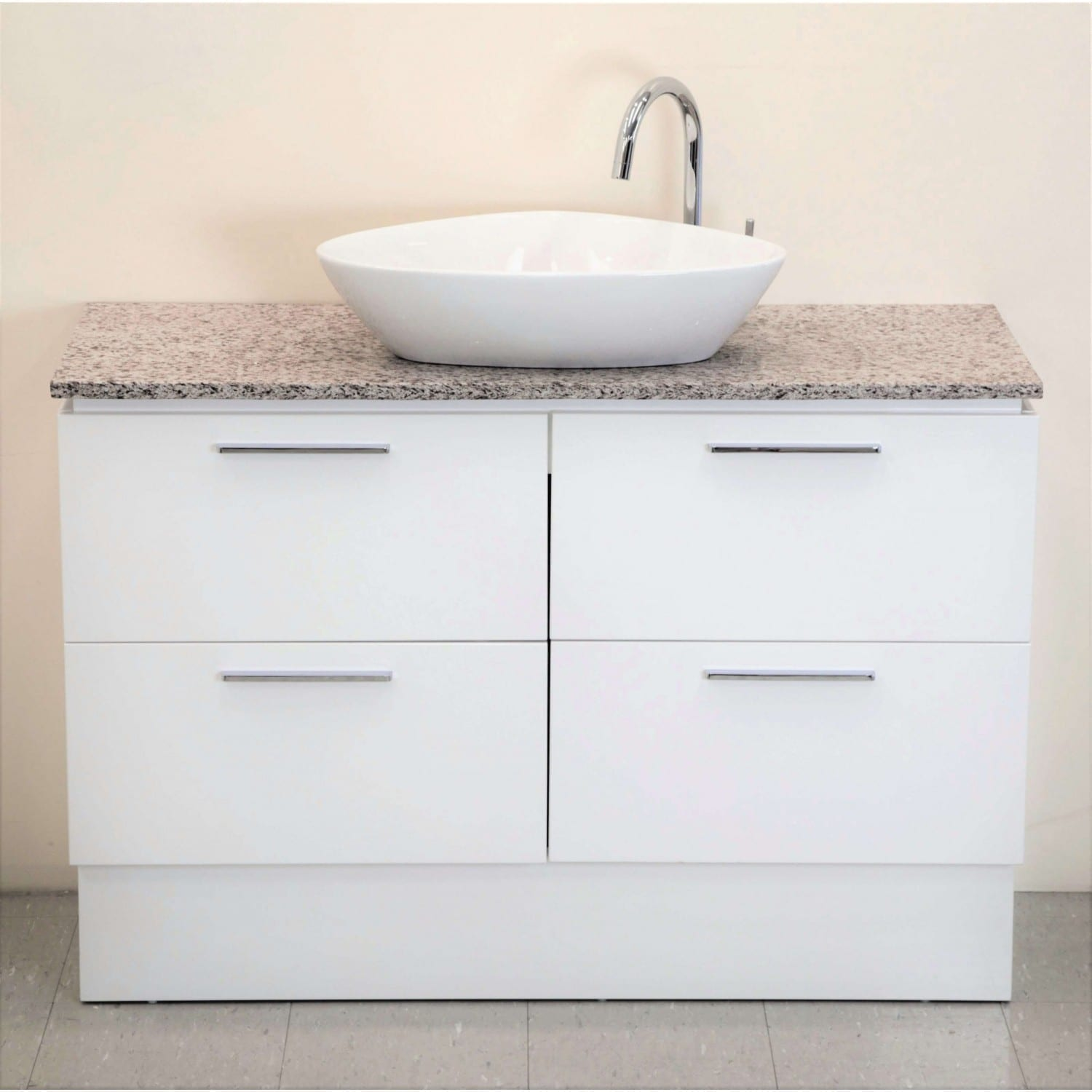 Britney Vanity 1200mm in White