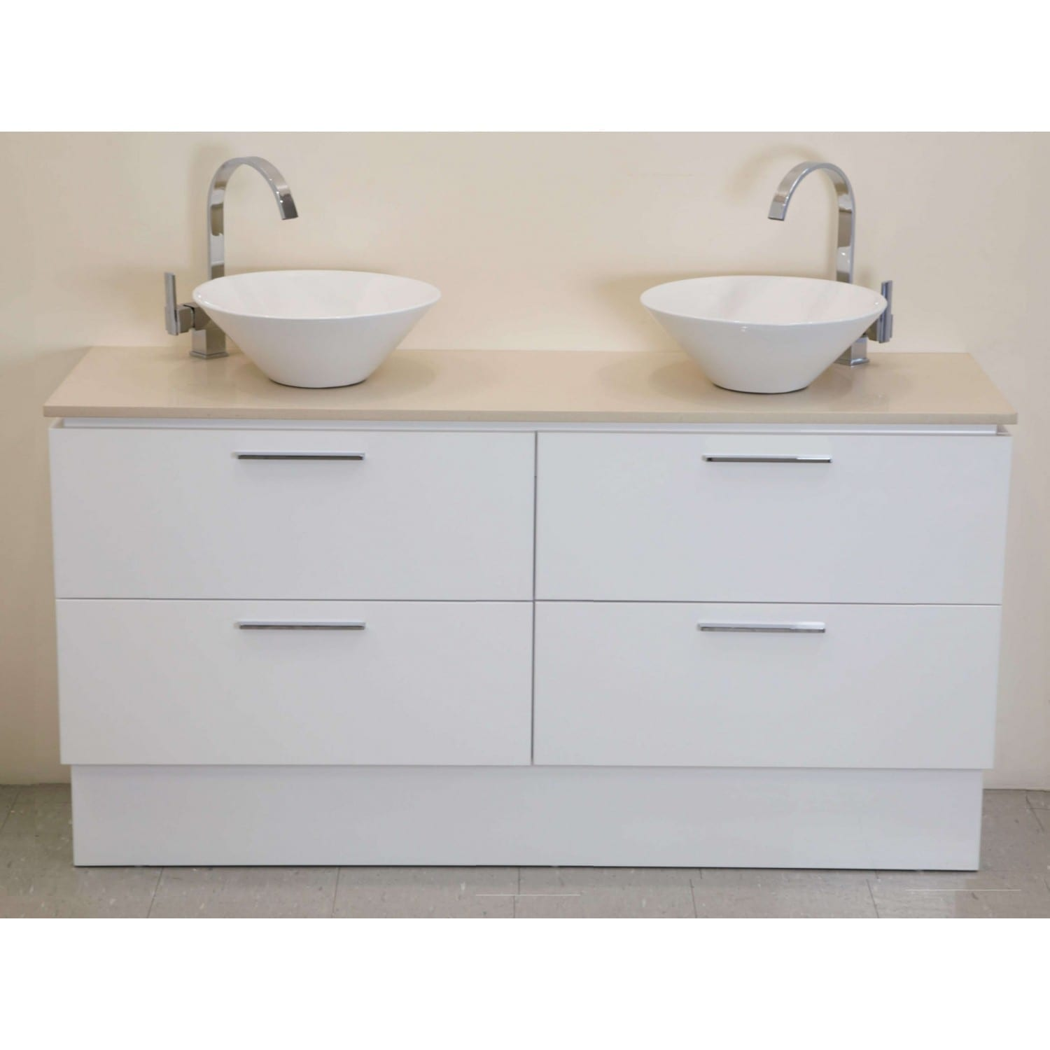 Britney Vanity 1800mm in White