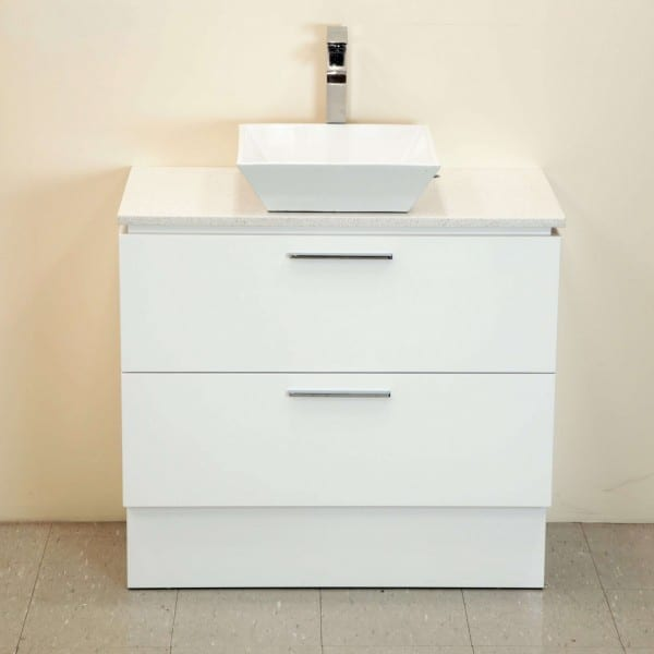 Britney 750mm Vanity in White