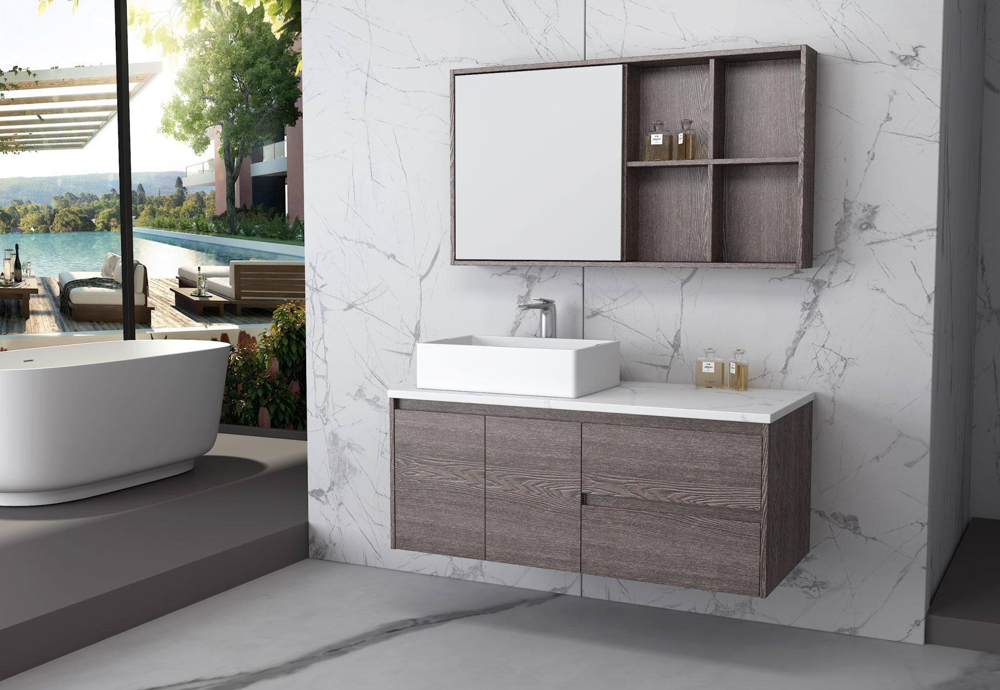 Bathroom Furniture That Feels Like Home 13