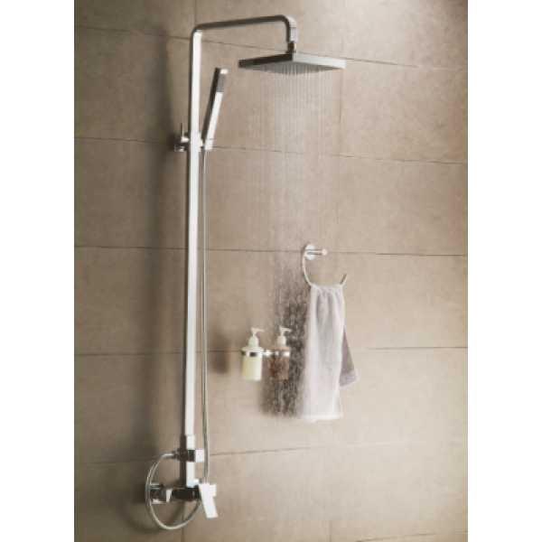 shower rail - shower head