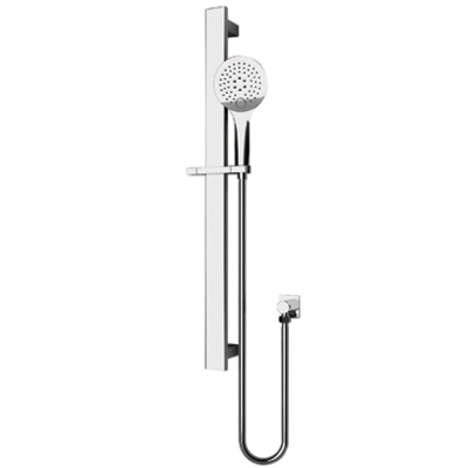 shower rail - shower head