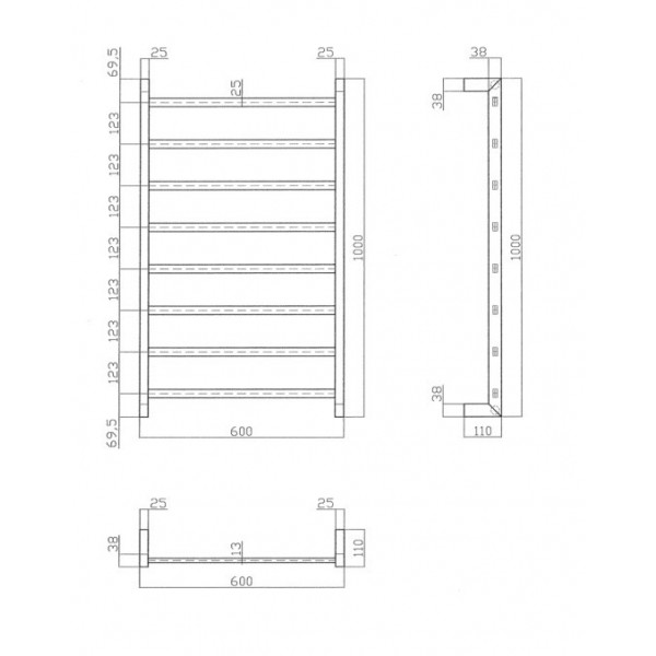 Heated Towel Rail YZ-008 2
