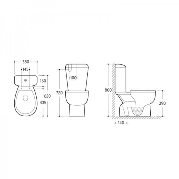 KDK 009S Toilet 2