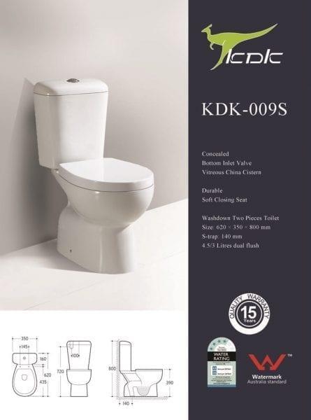 KDK 009S Toilet 1