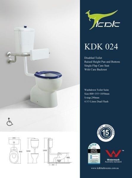 KDK 024 Disabled Toilet 1