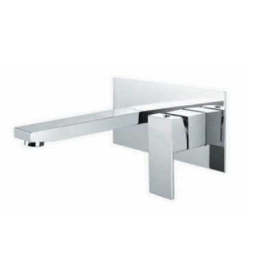 Cube Wall Basin Mixer