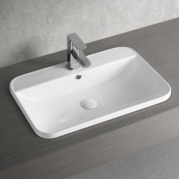 Inset basin