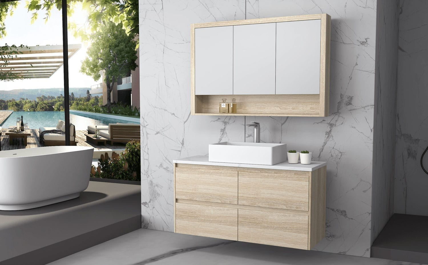 Bathroom Furniture & Features Glossary