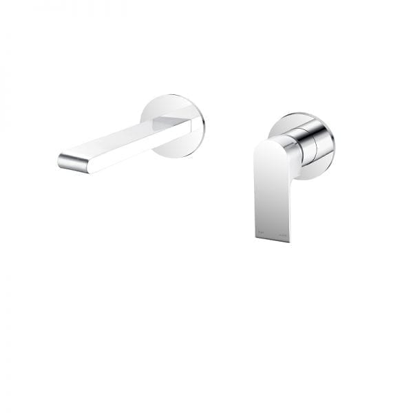 Bianca Wall Basin Mixer with Separate Back Plate