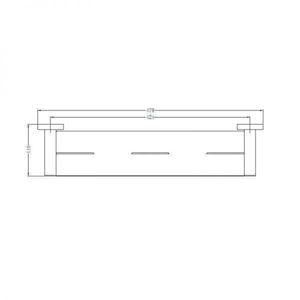 Mecca Metal Shelf 1
