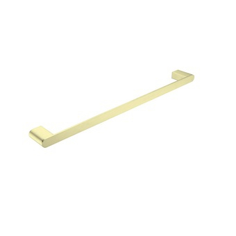 Single Towel Rail 800mm Brushed Gold