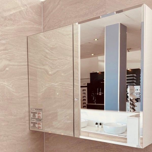 Beveled Edge Mirror Cabinet 2