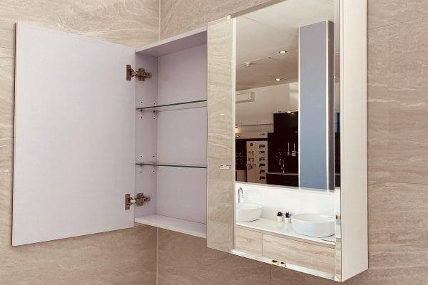 Beveled Edge Mirror Cabinet 3