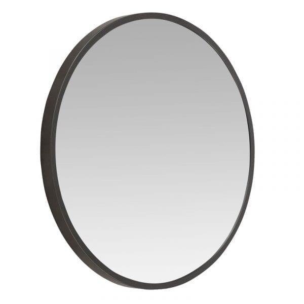 Round Pencil Edge Mirror with Black Frame 3