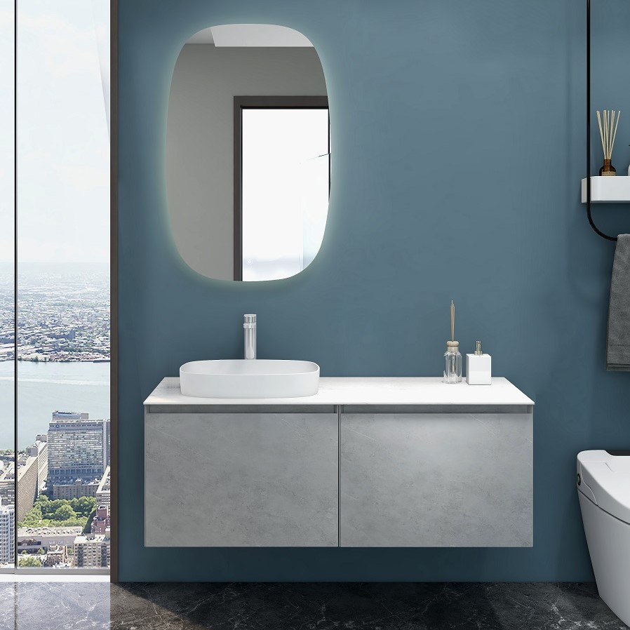 Inalco - Grey Bathroom Vanity 1200mm