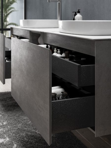 Inalco - Grey Bathroom Vanity 1900mm