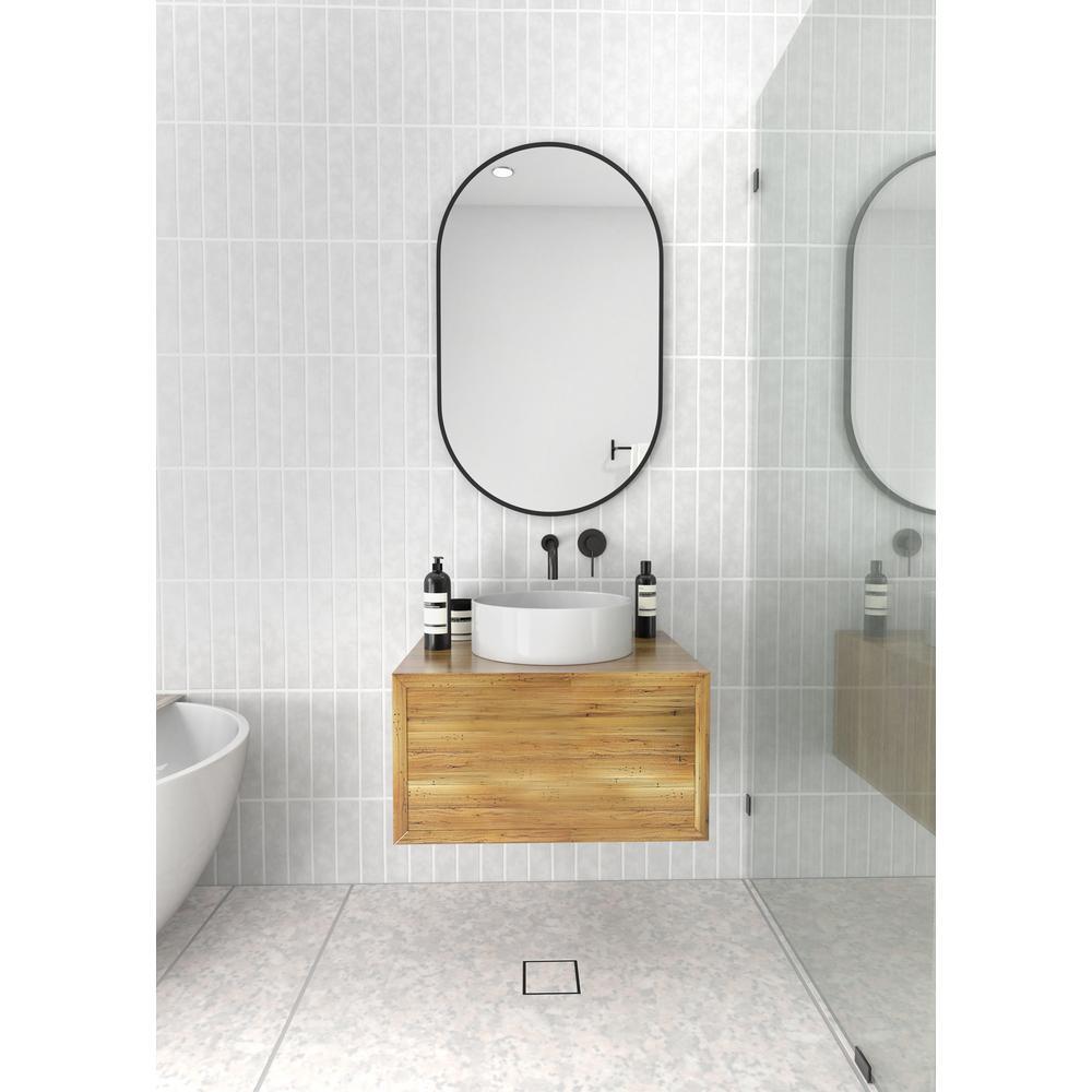 black glass warehouse vanity mirrors - small floating bathroom vanity