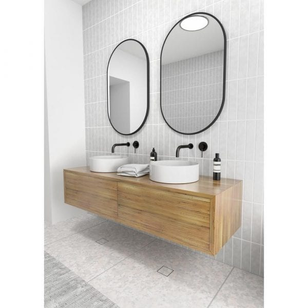 black glass warehouse vanity mirrors