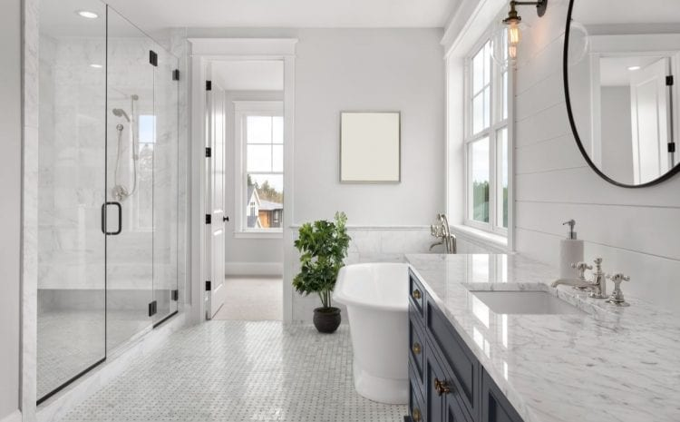 How to design your bathroom Hamptons style