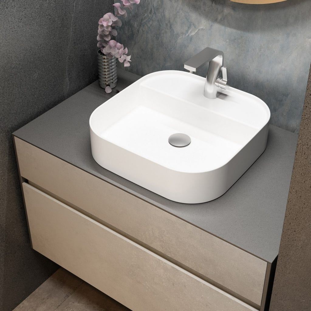 Lamina 900mm Vanity - top view