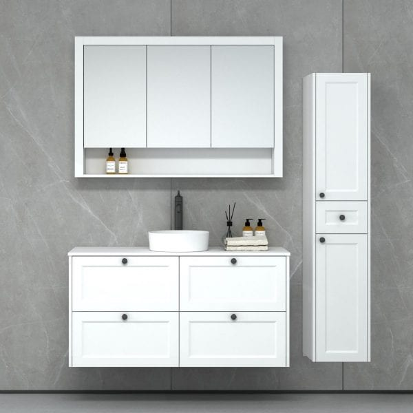 New Hampton 1200 Matt white
