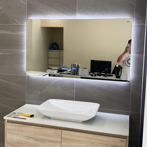 LED Mirror--Square 2