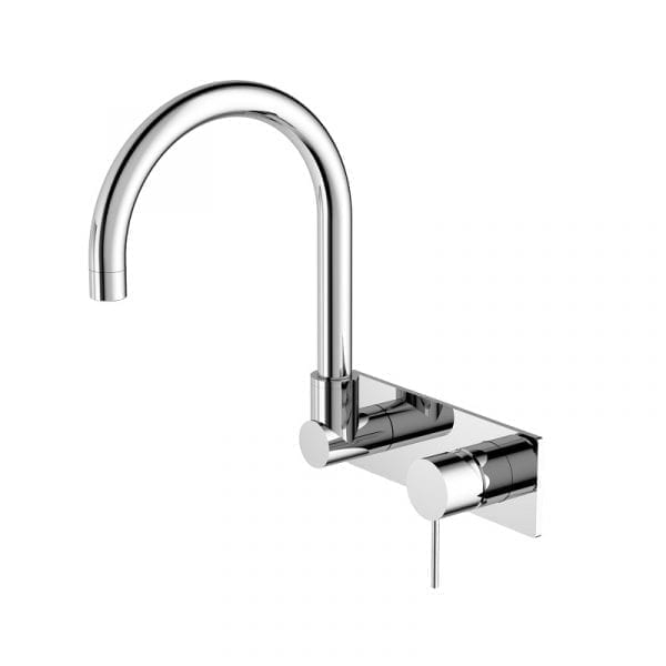 MECCA WALL BASIN MIXER with Swivel Spout