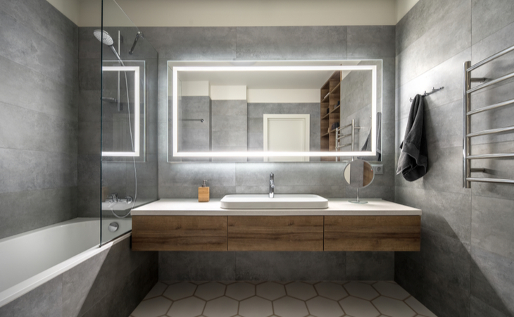 How to Add More Light and Style to Your Bathroom with Mirrors